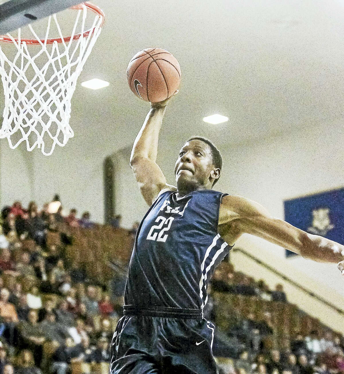 Yale's Justin Sears is seen here during a game against Princeton earlier this season.