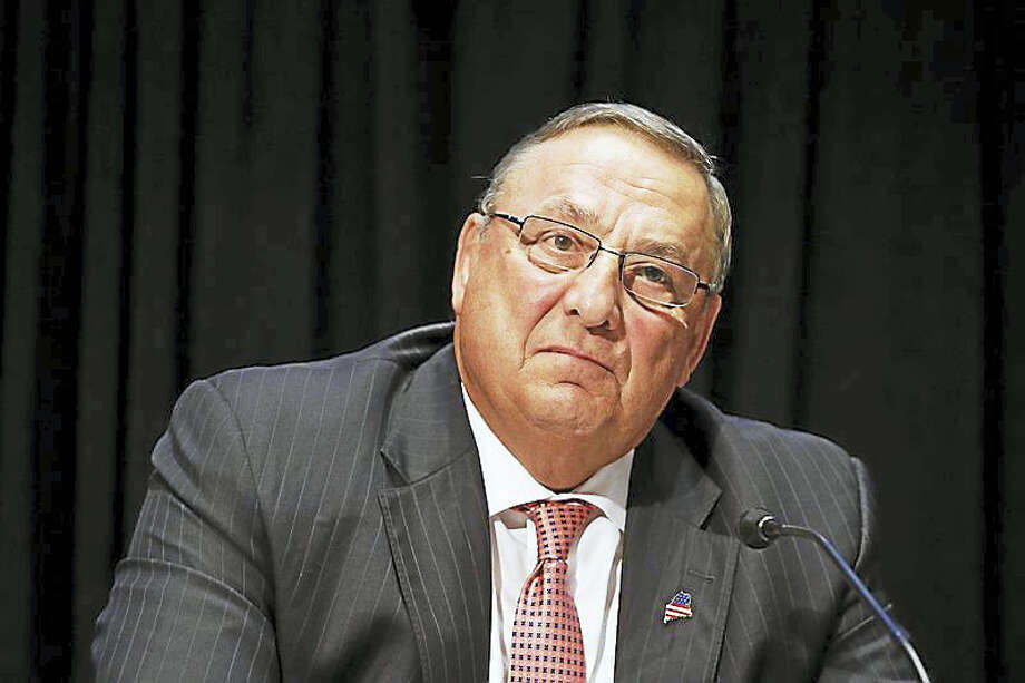 Gov. Paul LePage Photo: AP Photo