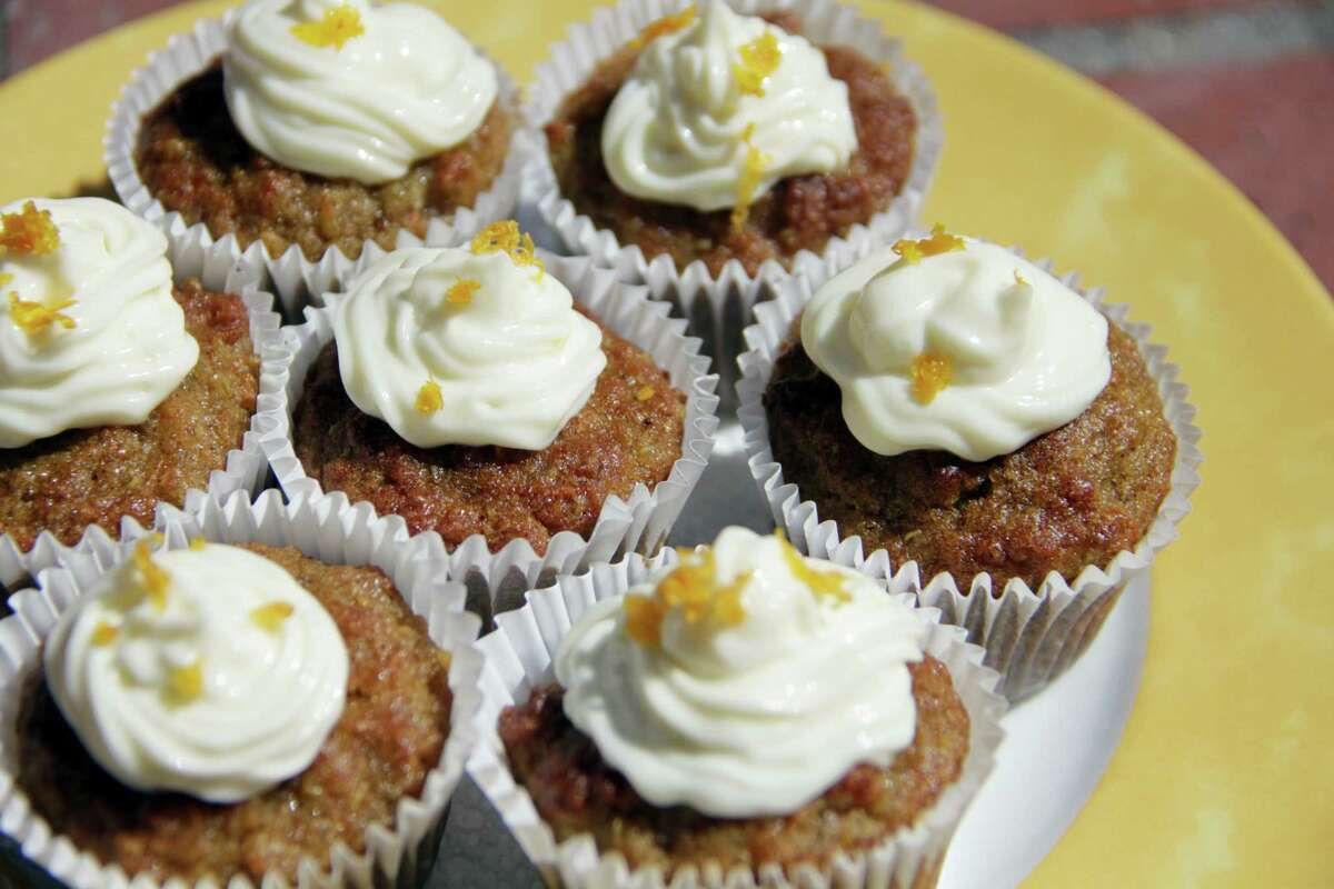 Mini quinoa carrot cakes can be a snack or a breakfast.