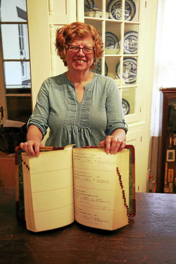 Deborah Shapiro is director of the Middlesex County Historical Society in Middletown. Photo: Bob Crawshaw Photo
