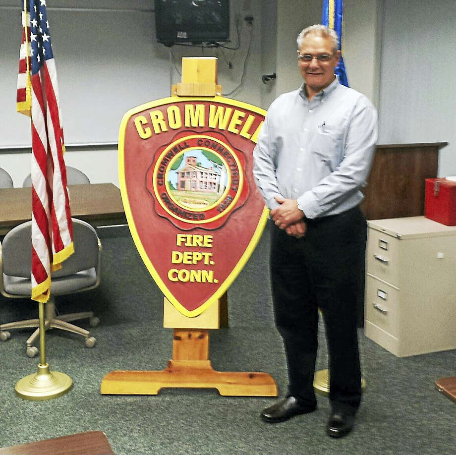 Cromwell Fire Department Chief Michael R. Terenzio Photo: Jeff Mill — The Middletown Press