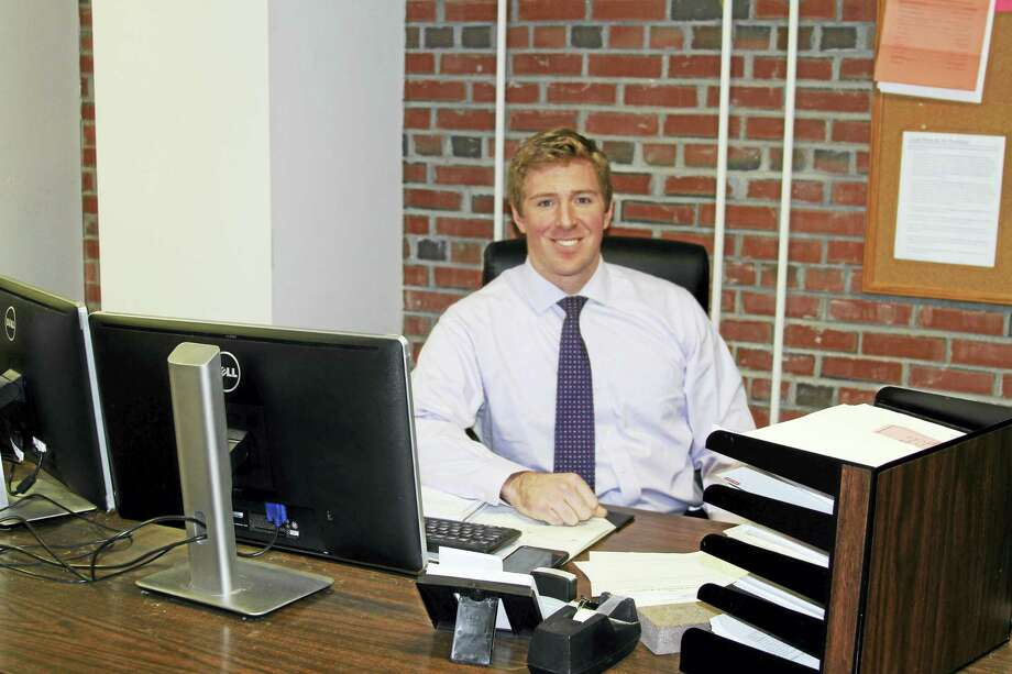 Ryan Curley is the Portland town clerk. Photo: Kevin Armstrong Photo