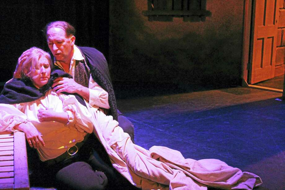 """Photos courtesy of Connecticut Lyric OperaSingers rehearse a scene from """"Rigoletto,"""" which will be performed at various locations in Connecticut including the Middletown Performing Arts Center on May 14. Photo: Journal Register Co."""