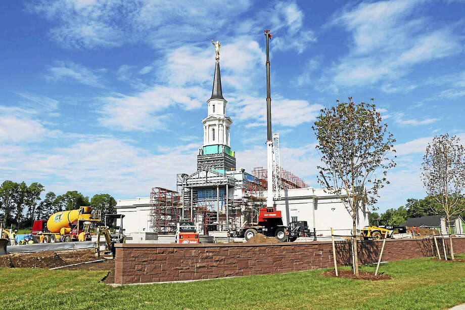 A new temple of the Church of Jesus Christ of Latter-day Saints in Farmington will be dedicated Nov. 20. Photo: CONTRIBUTED PHOTO — Jason Armistead
