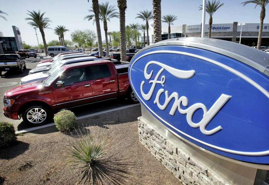 Ford is recalling nearly 202,000 pickup trucks, SUVs and cars in North America because the automatic transmissions can suddenly downshift to first gear. The company also said on April 27, 2016 that it's recalling more than 81,000 Explorer SUVs to fix a rear suspension problem. Photo: AP Photo/Matt York  / AP2011
