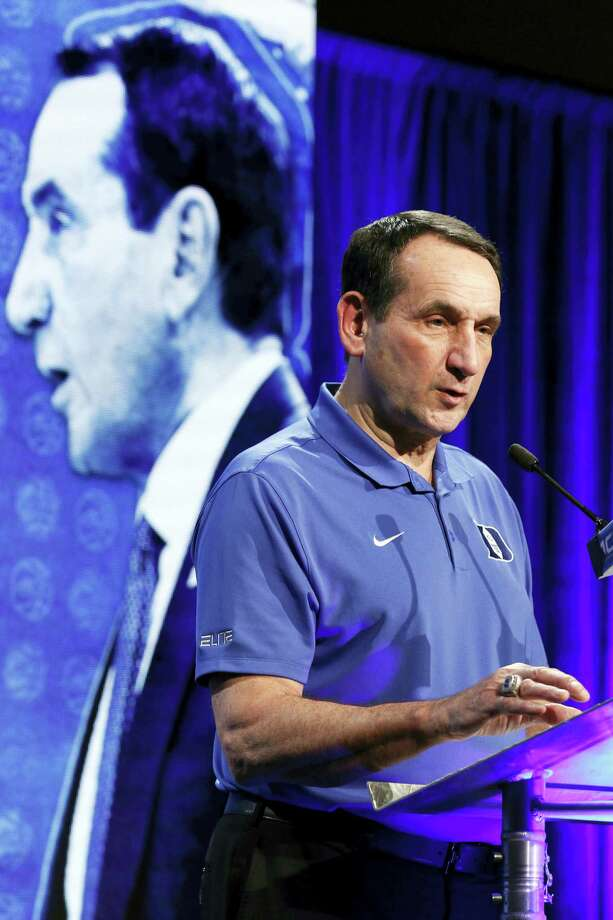Duke is the runaway choice for No. 1 in The Associated Press preseason Top 25. Photo: The Associated Press File Photo  / FR170480 AP