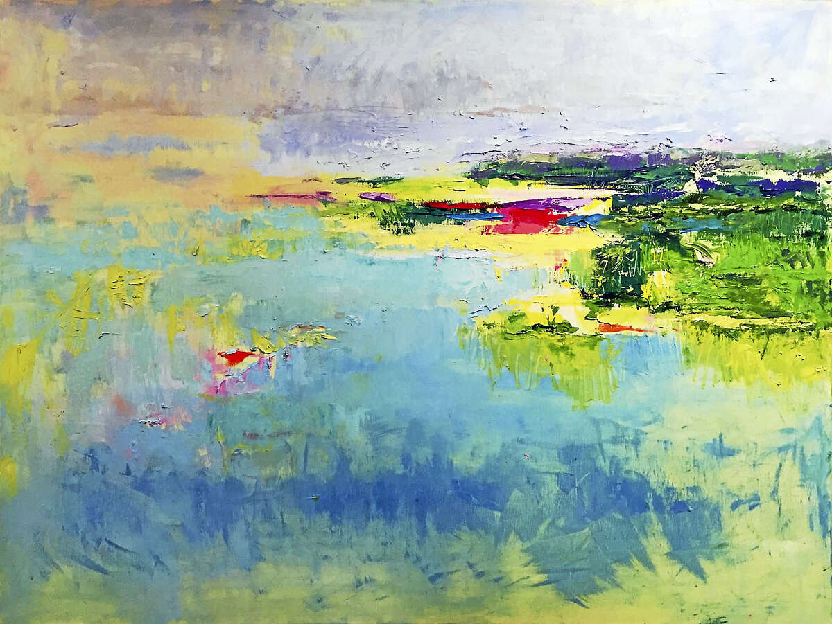 "Contributed photo ""Bayside,"" oil on canvas, by Molly McDonald."