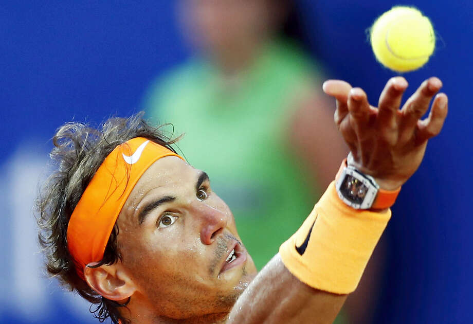 Fed up with being accused of doping, Rafael Nadal has written to the president of the International Tennis Federation and asked for all of his drug-test results and blood profile records to be made public. Photo: The Associated Press File Photo  / AP