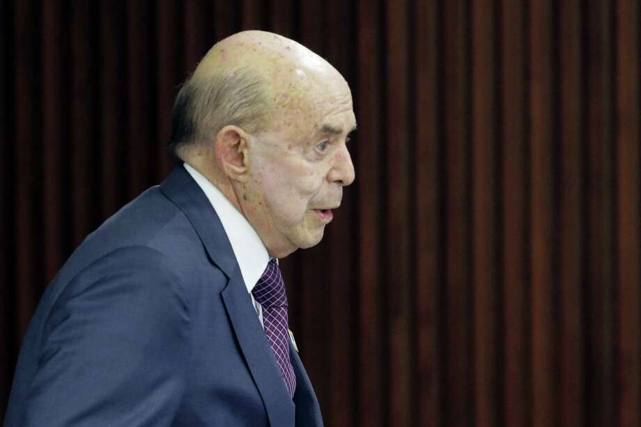 Acting governor of Rio de Janeiro Francisco Dornelles. Photo: The Associated Press File Photo  / Copyright 2016 The Associated Press. All rights reserved. This material may not be published, broadcast, rewritten or redistribu