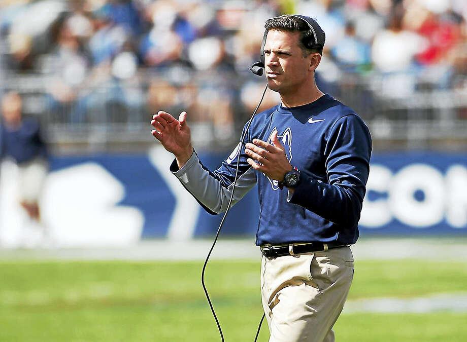 UConn head coach Bob Diaco. Photo: The Associated Press File Photo  / FR56276 AP