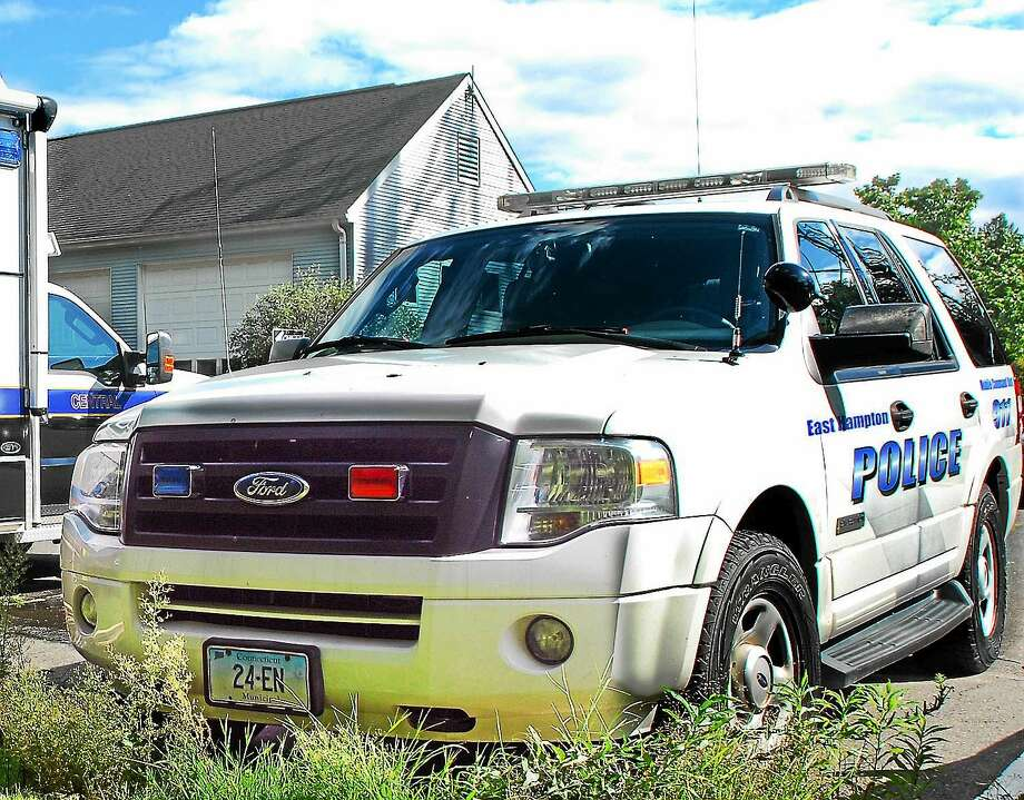 East Hampton police. Photo: Catherine Avalone — The Middletown Press FILE PHOTO