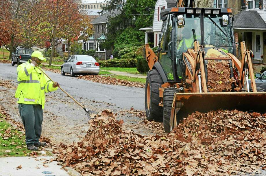 Autumn is the time for residential leaf removal. Photo: File Photo