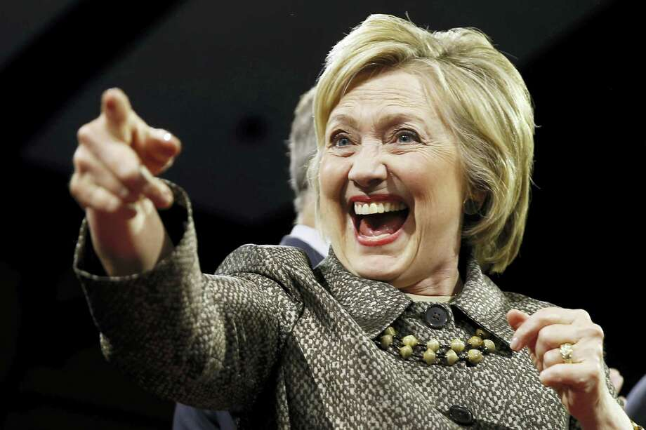 Democratic presidential candidate Hillary Clinton. Photo: THE ASSOCIATED PRESS  / Copyright 2016 The Associated Press. All rights reserved. This material may not be published, broadcast, rewritten or redistributed without permission.