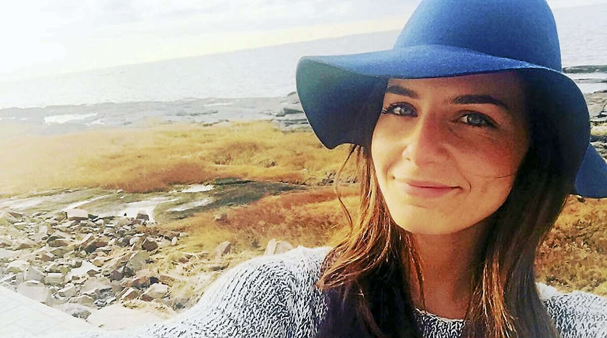 """Contributed photos """"Izzy"""" Goodkind, a 2009 graduate of Branford High School, was one of 28 lucky contestants on the popular reality dating show, """"The Bachelor."""""""