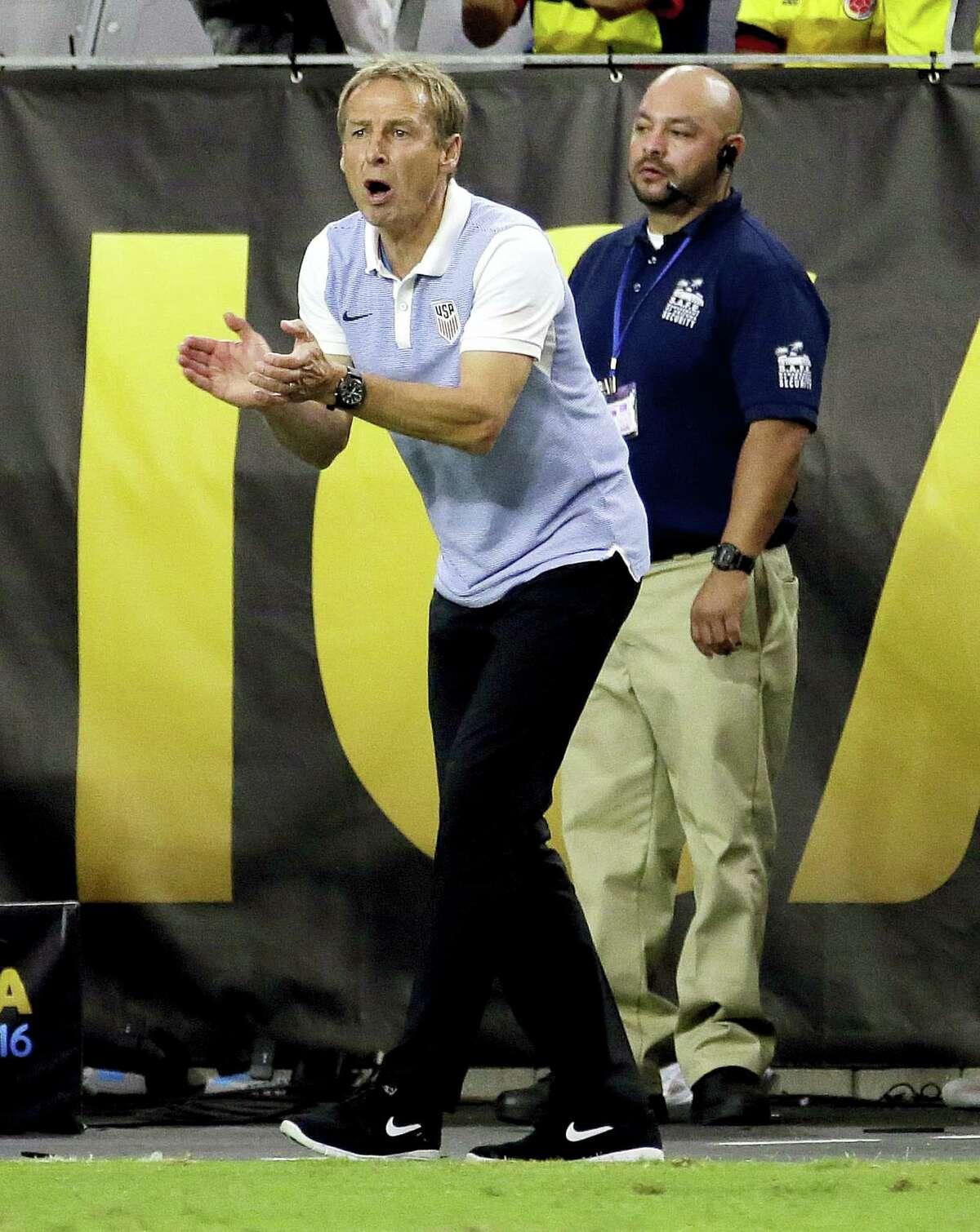 United States head coach Jürgen Klinsmann.