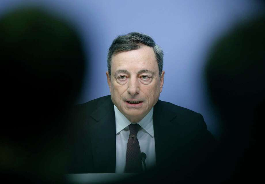 European Central Bank President Mario Draghi speaks during a news conference in Frankfurt, Germany, following a meeting of the ECB governing council. Photo: AP Photo/Michael Probst, File  / AP