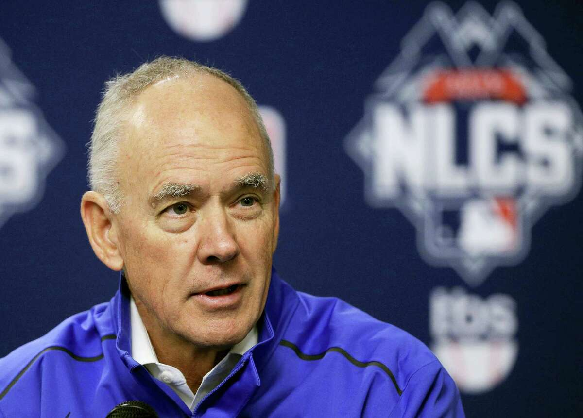 Mets general manager Sandy Alderson said on Wednesday that his long-term prognosis is good as he undergoes cancer treatment.