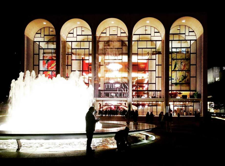 The Metropolitan Opera had to cancel part or all of a Rossini doubleheader after a patron tossed white powder — which proved to be someone's ashes — into the orchestra pit. Photo: Washington Post Photo/Anne Midgette  / The Washington Post