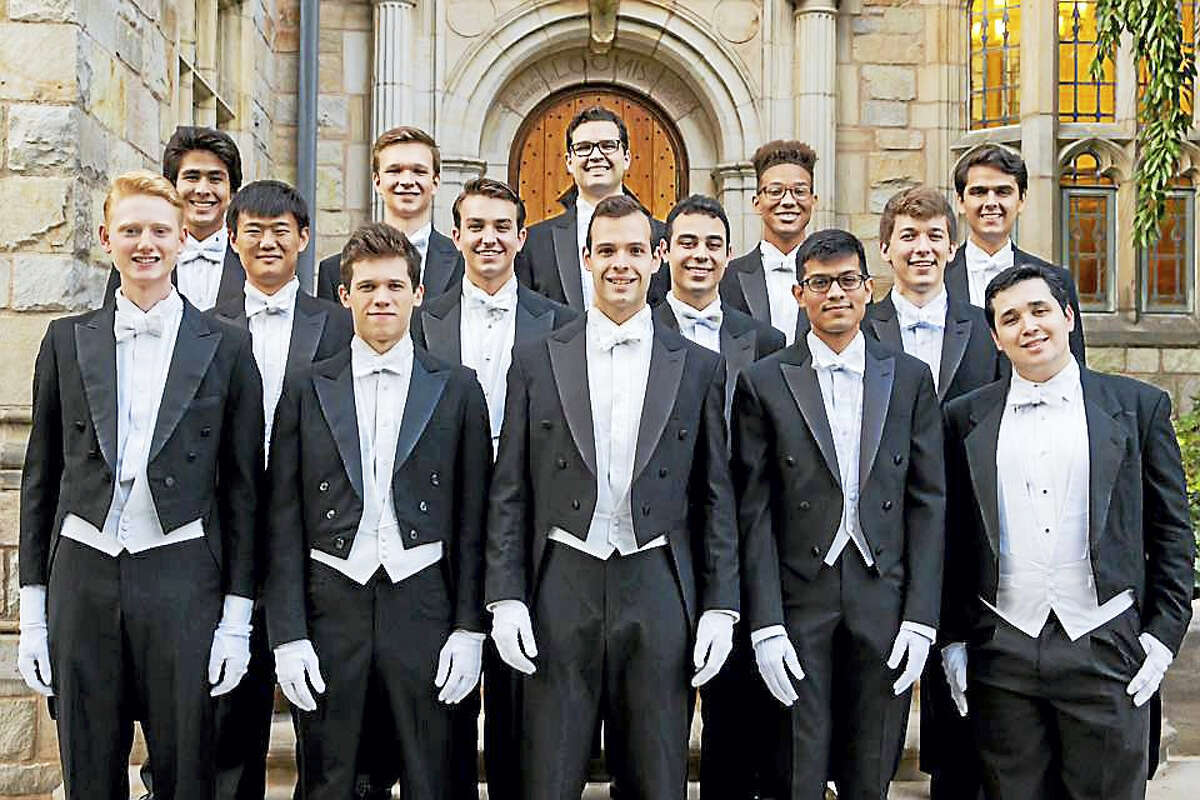 Contributed photo The Westbrook High School Student Council will host a performance by the world famous Yale University Whiffenpoofs a cappella group on March 3, at 7:30 p.m.