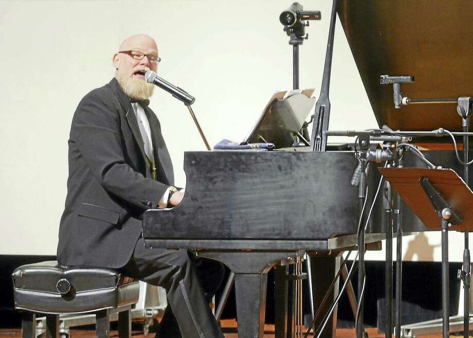 Photos by Peter Harron Jeff Barnhart and His Hot Rhythm will celebrate the rollicking jazz and pop styles of the first half of the twentieth century with a concert on the Essex Winter Series on Sunday, Feb. 21, at 3 p.m. at Valley Regional High School in Deep River. Photo: Journal Register Co.