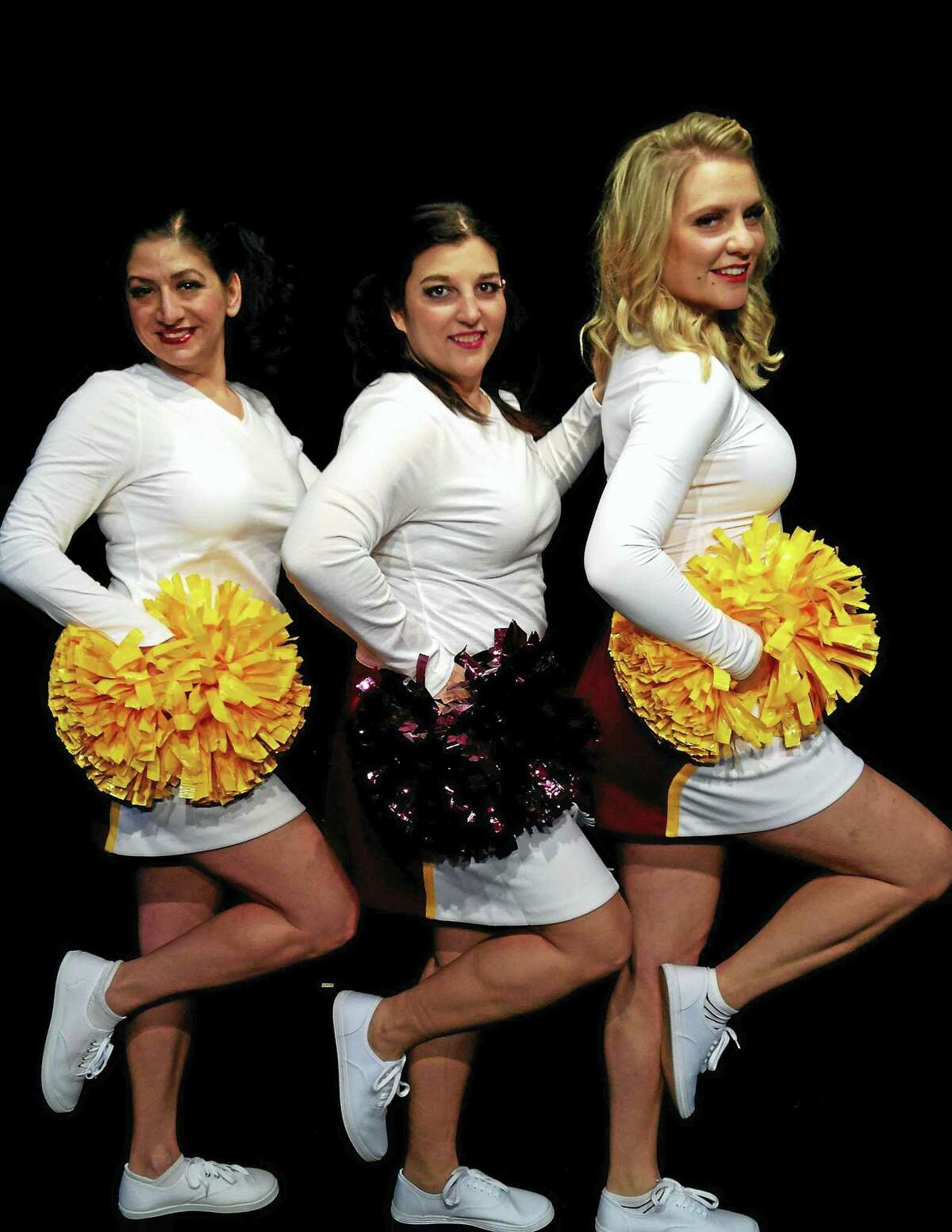 Contributed photos Kristin Iovene, Meagan Palmer and Maria Pompile star in Vanities, a bittersweet comedy running Feb. 19-March 26 at the Connecticut Cabaret Theatre.