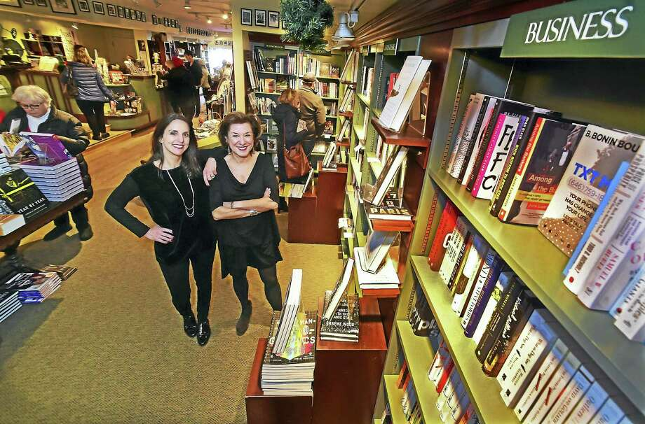 R.J. Julia Booksellers manager Lori Fazio, left, and owner Roxanne Coady at the R.J. Julia Booksellers store in Madison on Friday. Photo: Peter Hvizdak — New Haven Register  / ©2016 Peter Hvizdak