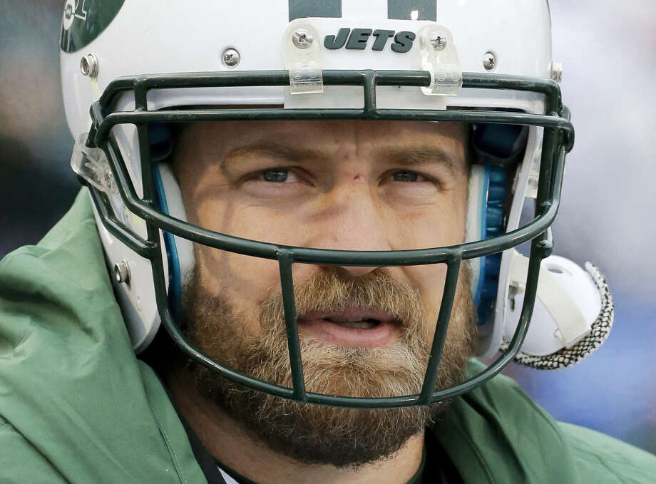 "Re-signing quarterback Ryan Fitzpatrick remains a ""priority"" for the Jets, although general manager Mike Maccagnan says there's not necessarily a deadline to have him back on the roster. Photo: The Associated Press File Photo  / FR170745 AP"