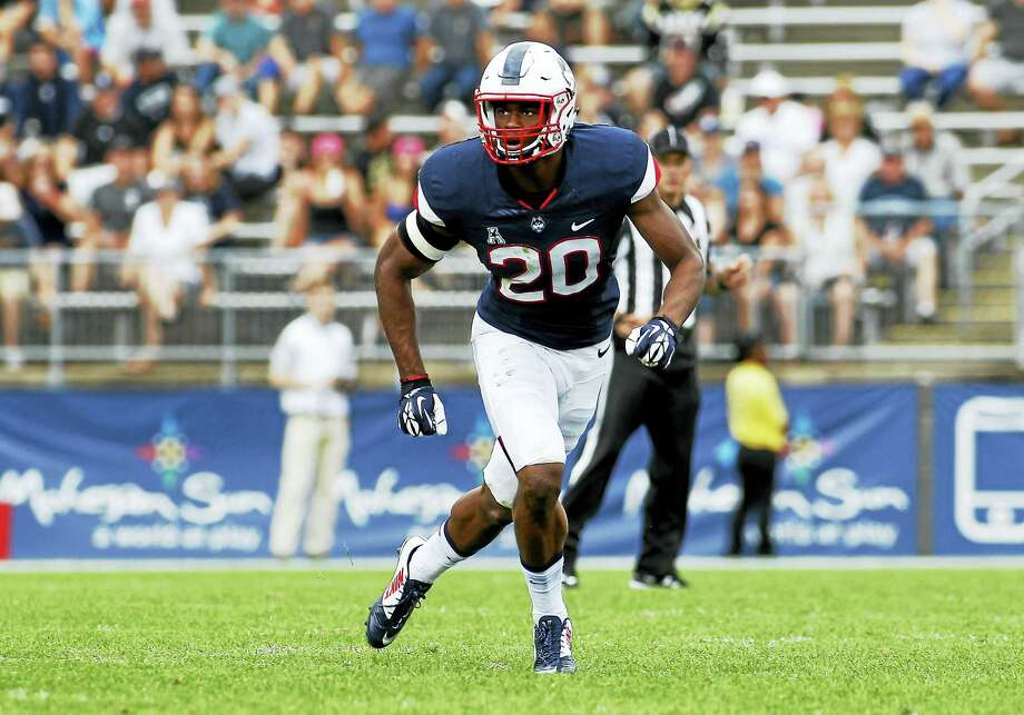 UConn safety Obi Melifonwu will be making his 44th career start when he suits up against East Carolina on Saturday. Photo: The Associated Press File Photo  / FR56276 AP