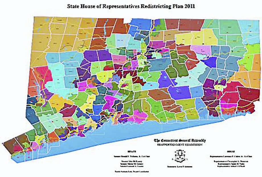 2011 House reapportionment map Photo: Digital First Media