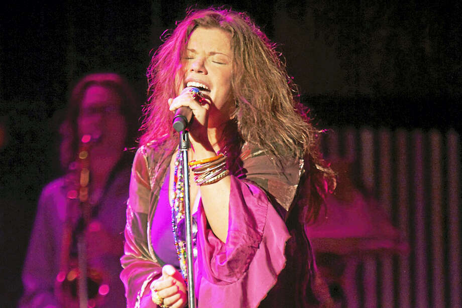 Contributed photo - Dom ForcellaMary Bridget Davies brings the sound of Janis Joplin to Ridgefield. Photo: Journal Register Co.