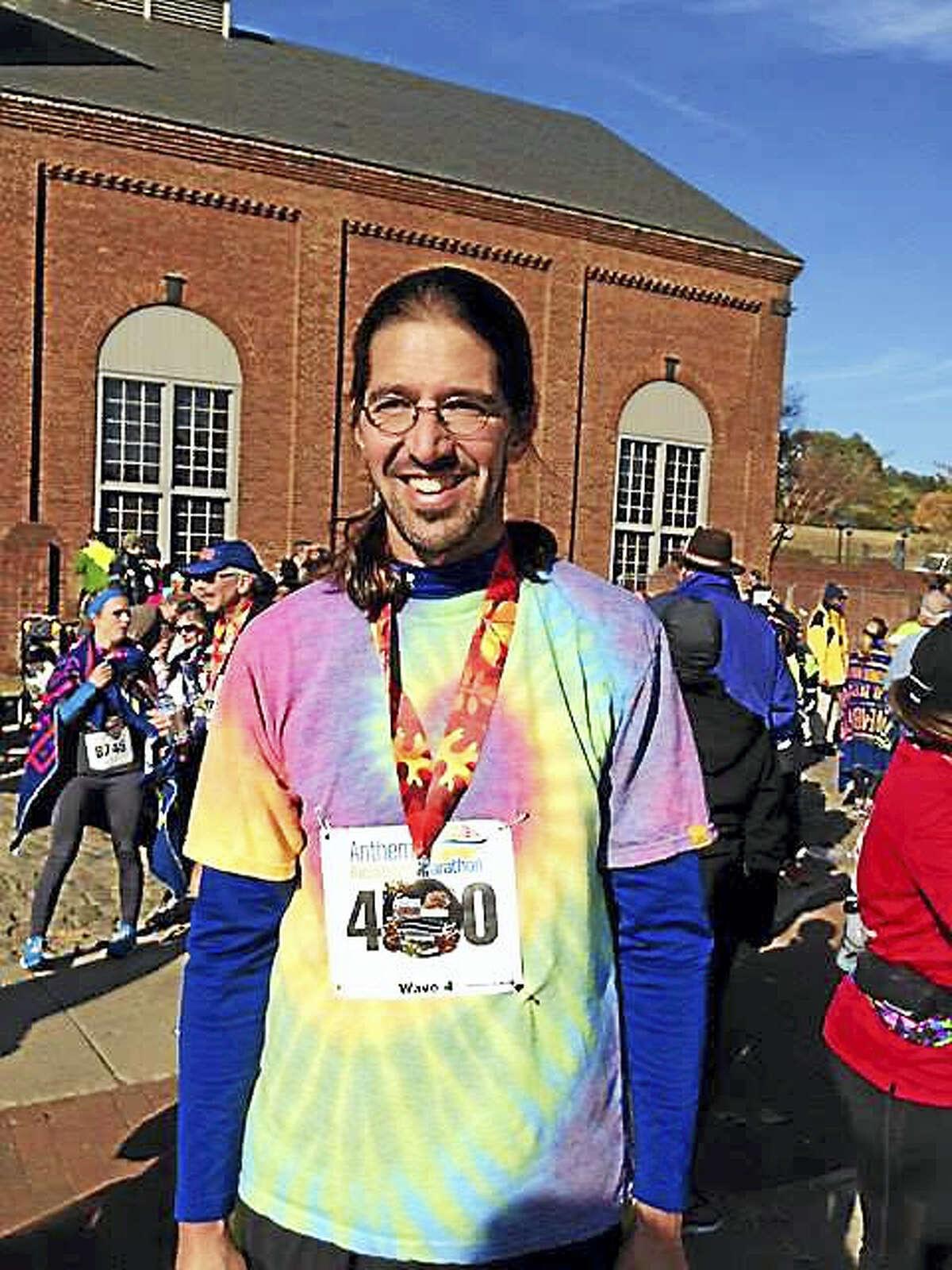 In November 2014, Helin ran the Richmond Marathon in Virginia.