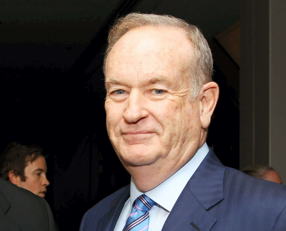"""In this Oct. 28, 2013, photo, political commentator Bill O'Reilly attends the National Geographic Channel's """"Killing Kennedy"""" world premiere screening reception at The Newseum in Washington."""