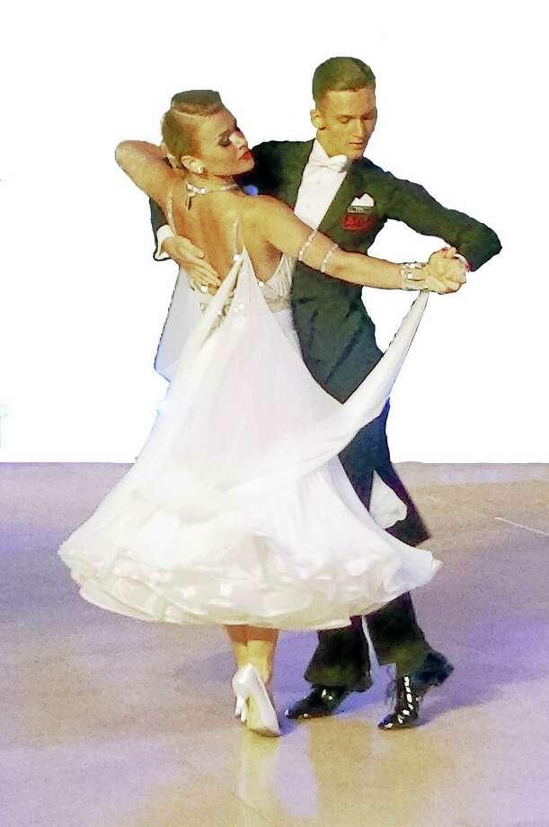 Anna Kaczmarski and Patryk Ploszak in action. Photo: Contributed