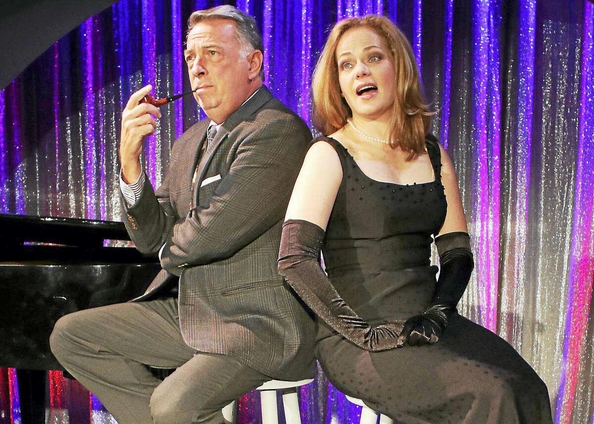 "Michael Marotta and Kim Rachelle Harris in ""Tenderly."""