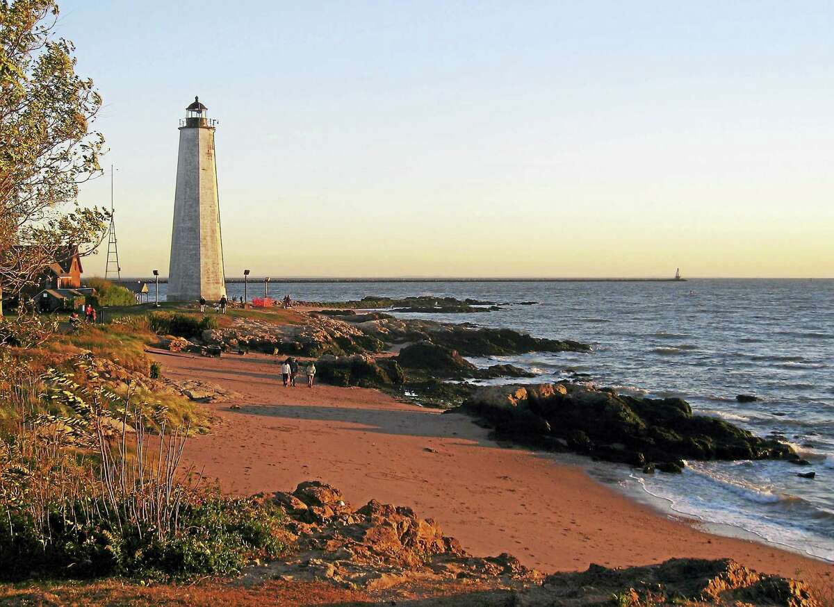 The lighthouse at Lighthouse Point Park: an example of history preserved.