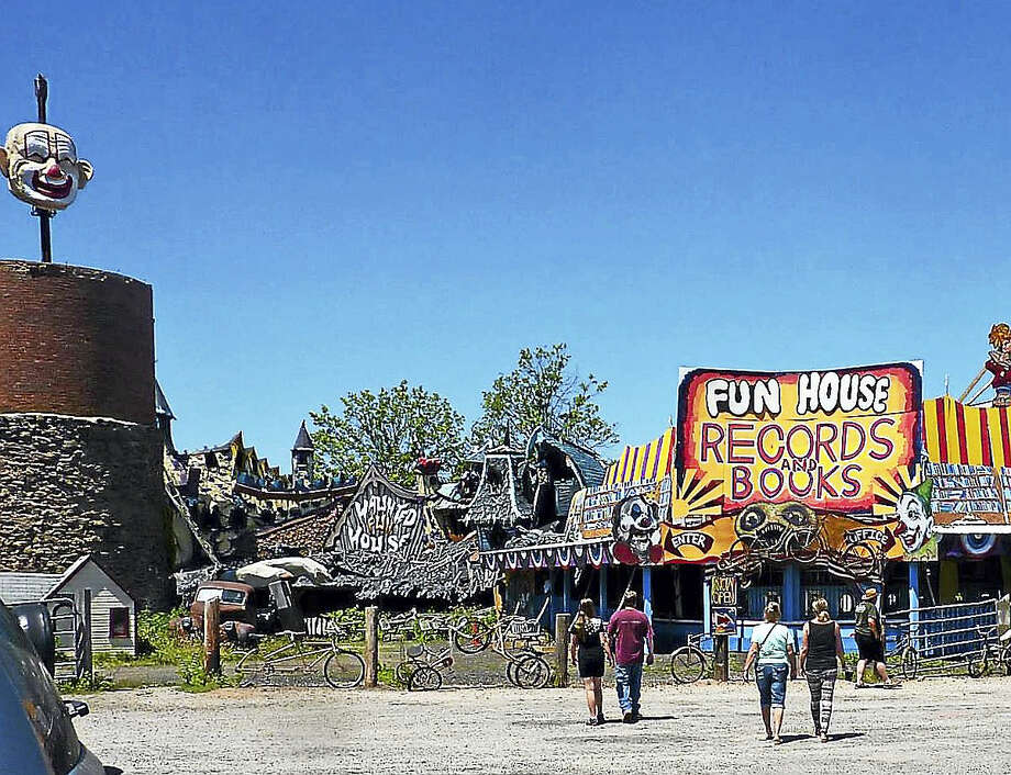 Wild Bill's Nostalgia shop is running a weekend camping event with a Grateful Dead vibe, featuring nearly 20 bands through Sunday. Visitors can check out the funhouse, art installations and new book store in Middletown, among many other attractions. Photo: Courtesy Wild Bill's Nostalgia