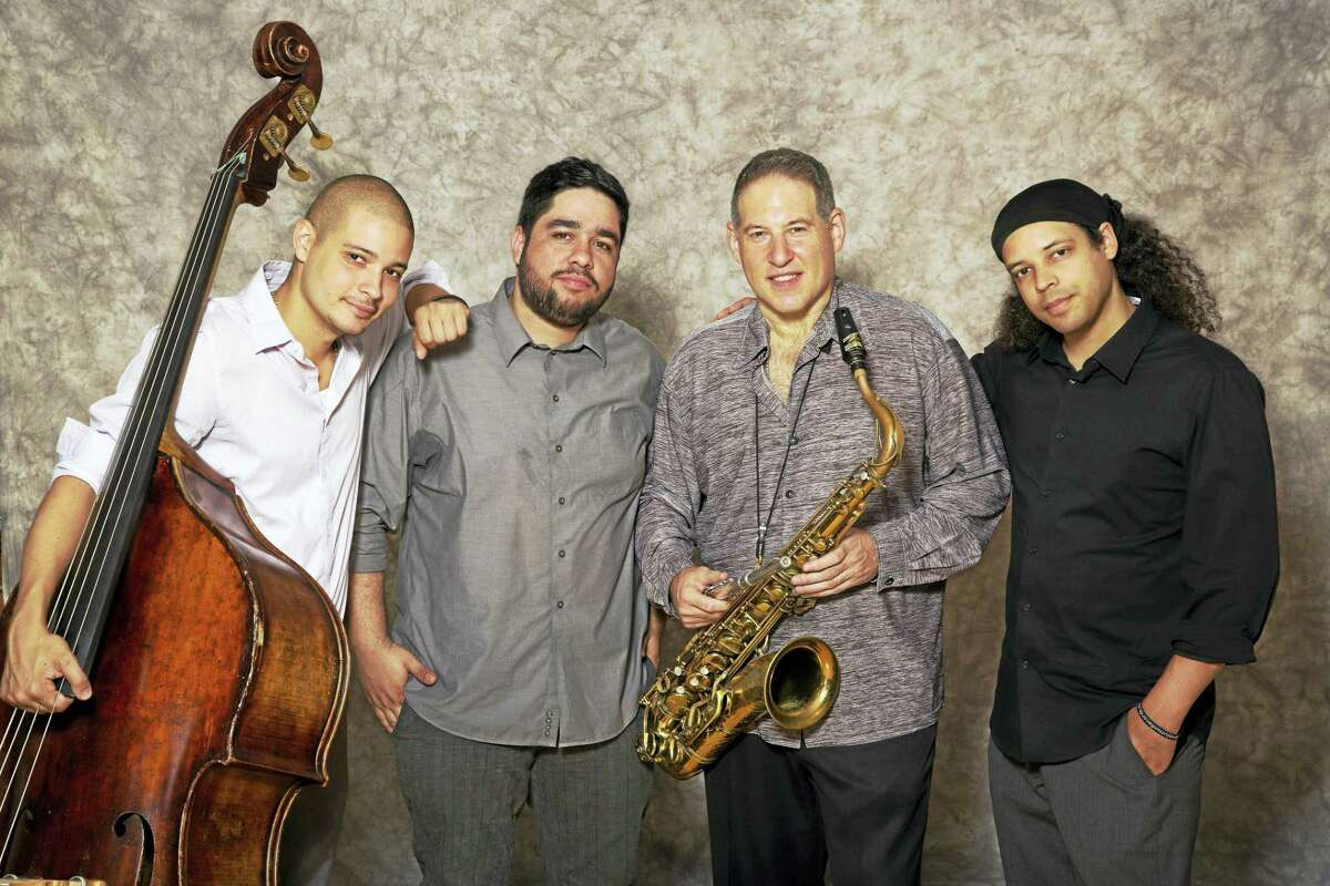 The Mitch Frohman Quartet, from left, Luques Curtis, Joel Mateo, Frohman and Zaccai Curtis.