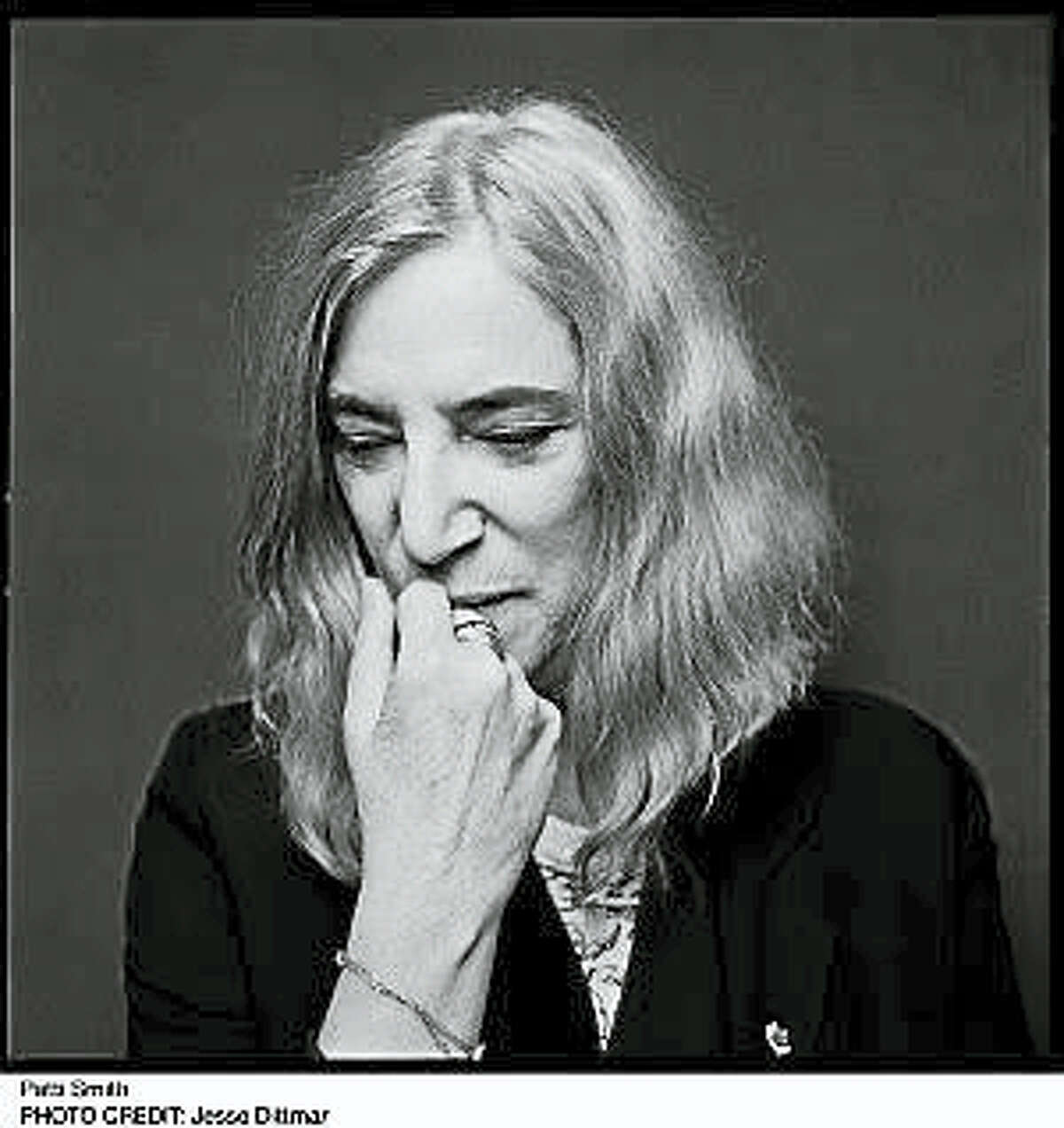 Photo by Jesse DittmarPatti Smith will discuss her latest book with Colin McEnroe at the Mark Twain House in October.
