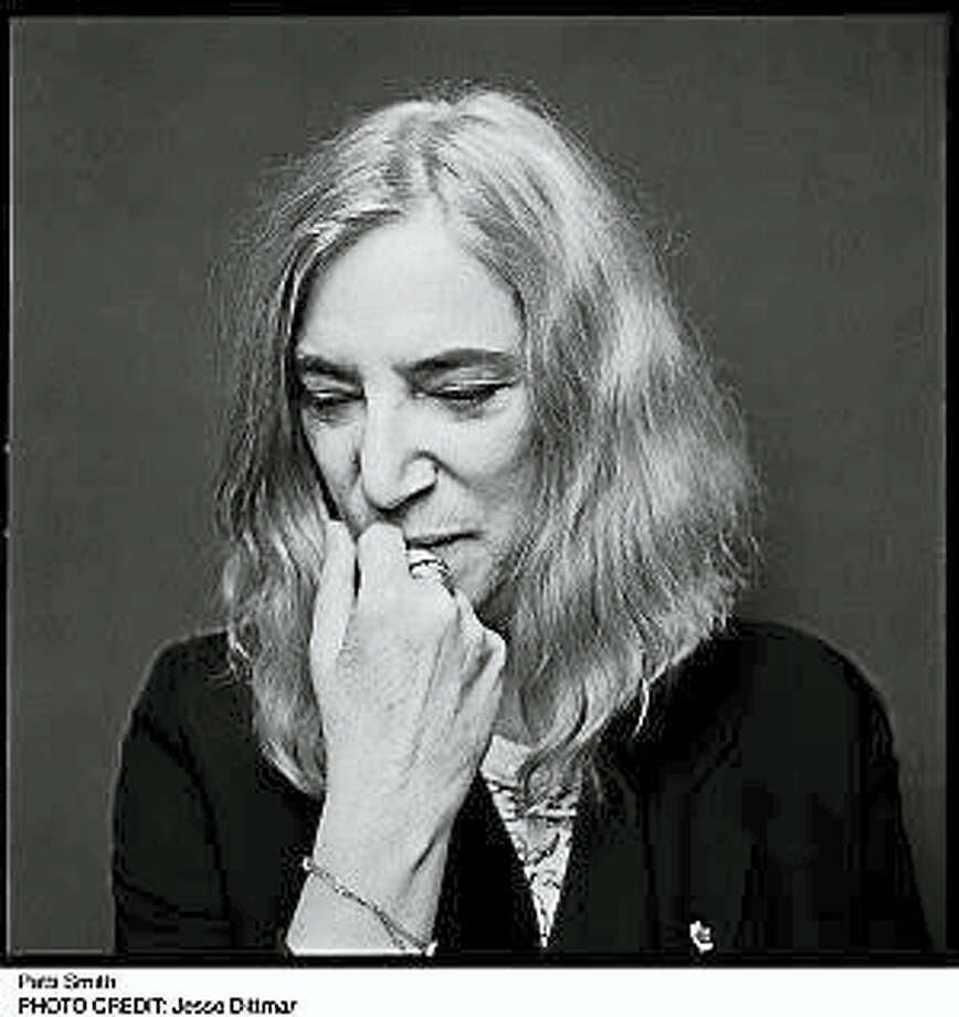 Photo by Jesse DittmarPatti Smith will discuss her latest book with Colin McEnroe at the Mark Twain House in October. Photo: Journal Register Co.
