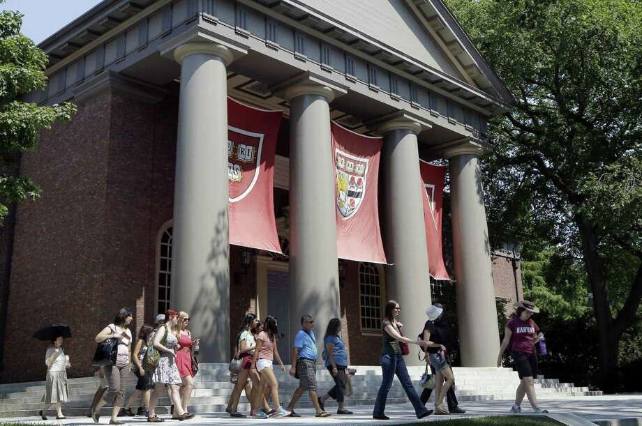 Harvard University in Cambridge, Massachusetts Photo: FILE Photo  / AP