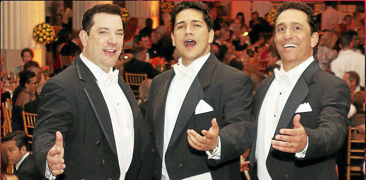 The Sicilian Tenors will perform in the season opening of the Greater Middletown Concert Association Oct. 22 at the MHS Performing Arts Center.