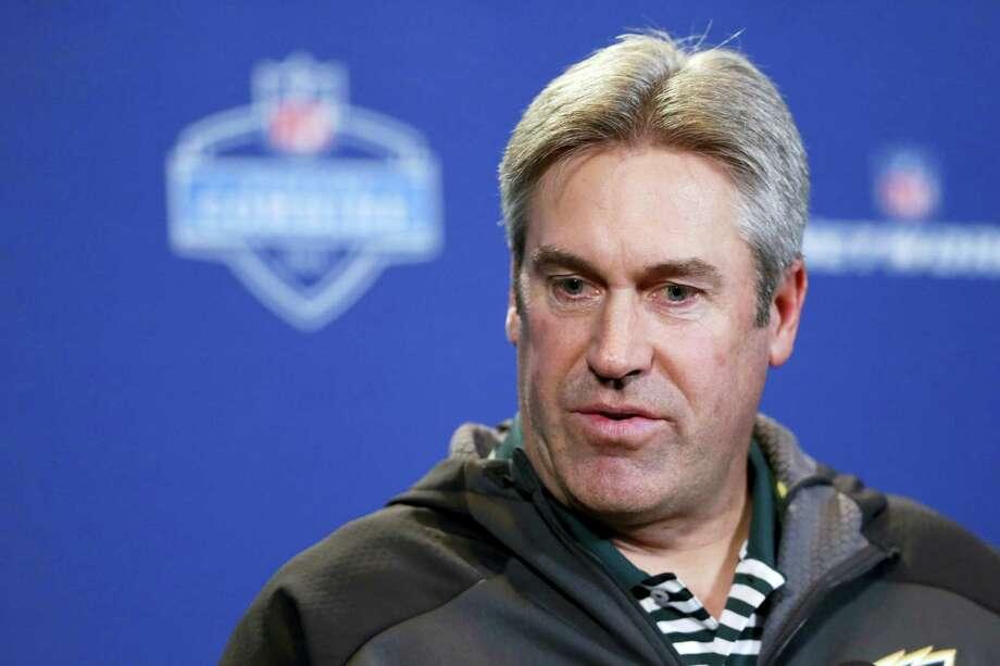 Philadelphia Eagles head coach Doug Pederson. Photo: The Associated Press File Photo  / AP