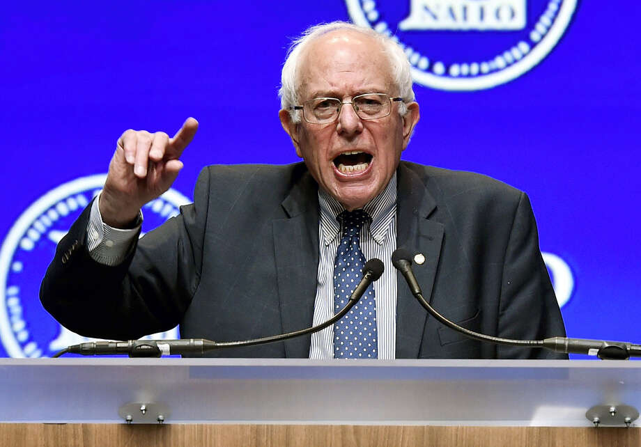 Democratic presidential candidate Sen. Bernie Sanders, I-Vermont. Photo: ASSOCIATED PRESS FILE PHOTO  / FR170737 AP