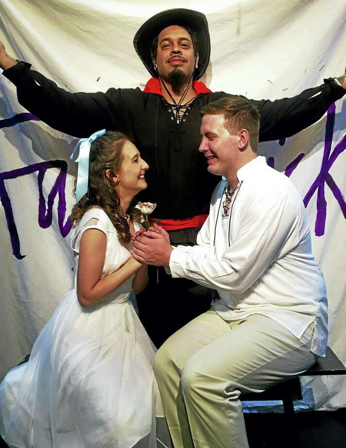 Contributed photo Performances of The Fantasticks at the Connecticut Cabaret Theatre in Berlin continue to Sept. 24. Photo: Journal Register Co.