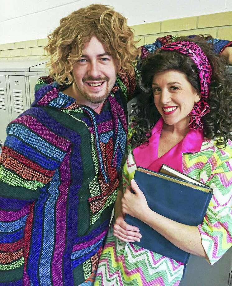 """In """"Fast Times at Mermaid High,"""" Justin Rugg is a surfer dude who falls in love with a mermaid played by Mary Mannix. Photo: Contributed"""