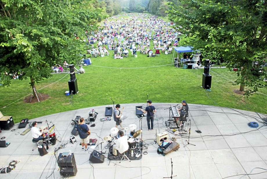 Contributed photoLive music begins in July at the Wadsworth Mansion in Middletown. Photo: Journal Register Co.