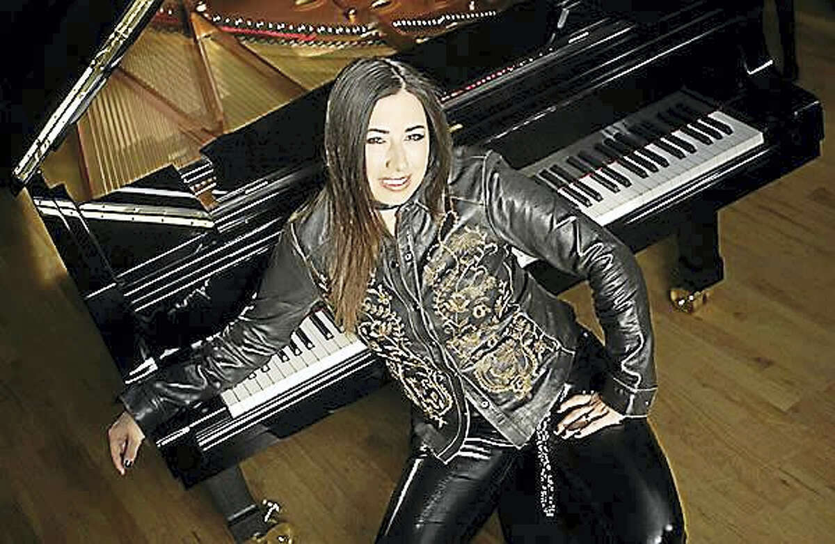 Contributed photo Jazz pianist Rachel Z performs at the Poli Club at the Palace in Waterbury on June 24.