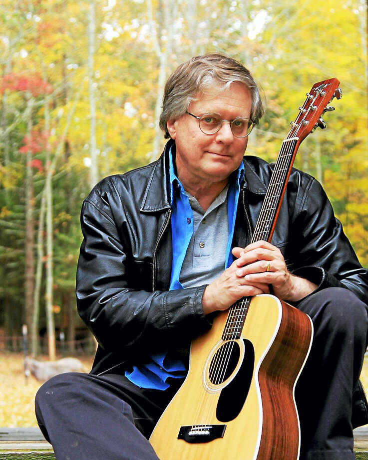 Contributed photo  Folk singer Larry Kaplan will perform in a free concert at the Acton Public Library on Friday, April 22. Photo: Journal Register Co.