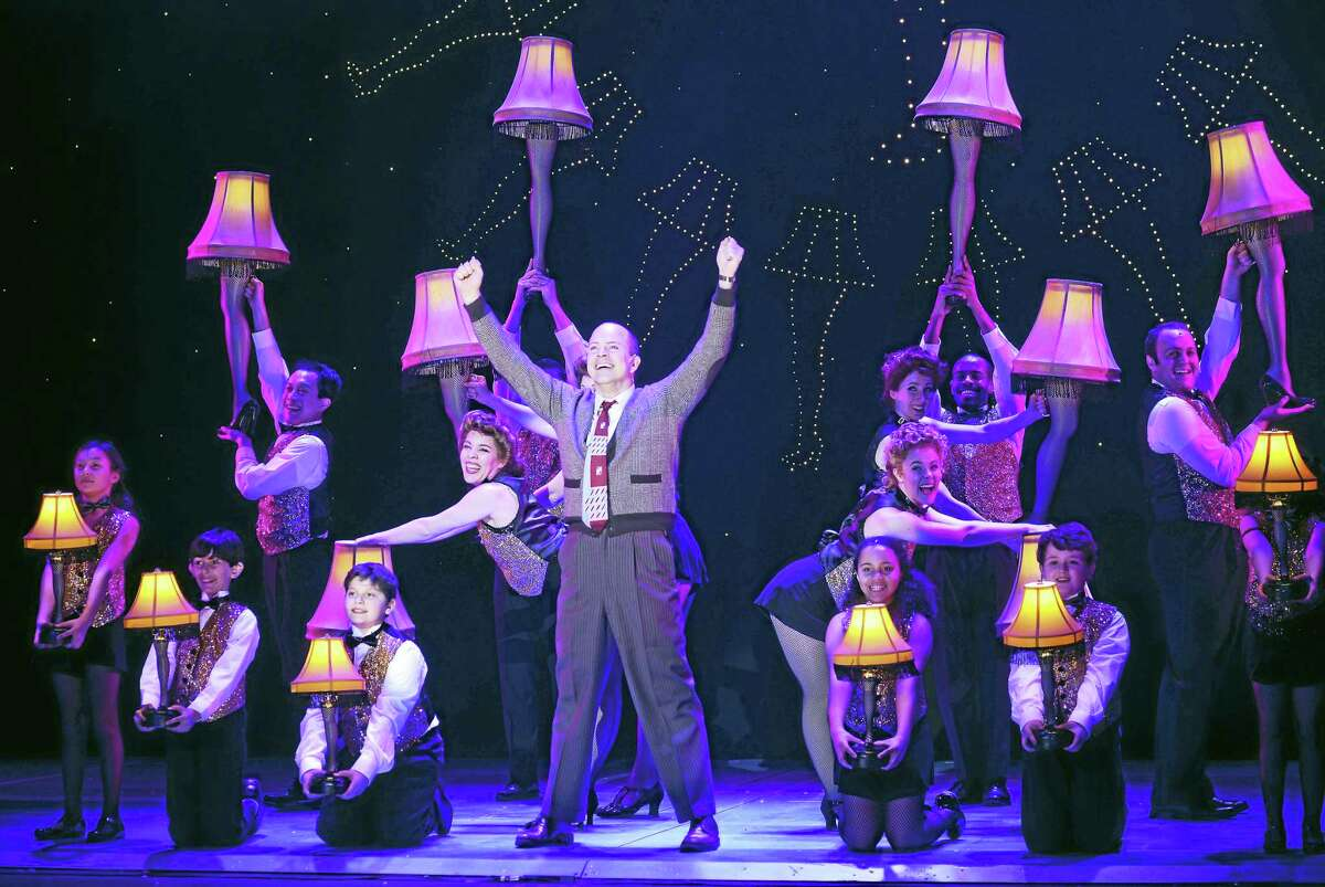 """Contributed photo A scene from """"A Christmas Story - The Musical."""" The tour is stopping at the Waterbury Palace Theater in November."""