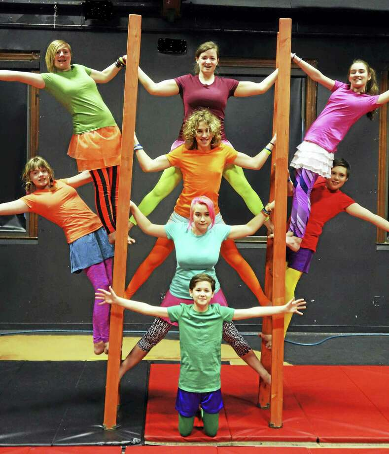 Contributed photos -Oddfellows PlayhouseOddfellows Playhouse Youth Theater and Circophony Youth Circus will present Circus of Joy: Finding Happiness in Who You Are, April 29-30. Photo: Journal Register Co.